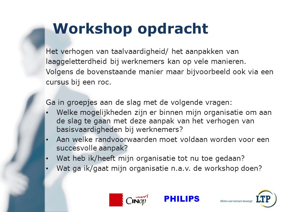 Workshop opdracht PHILIPS