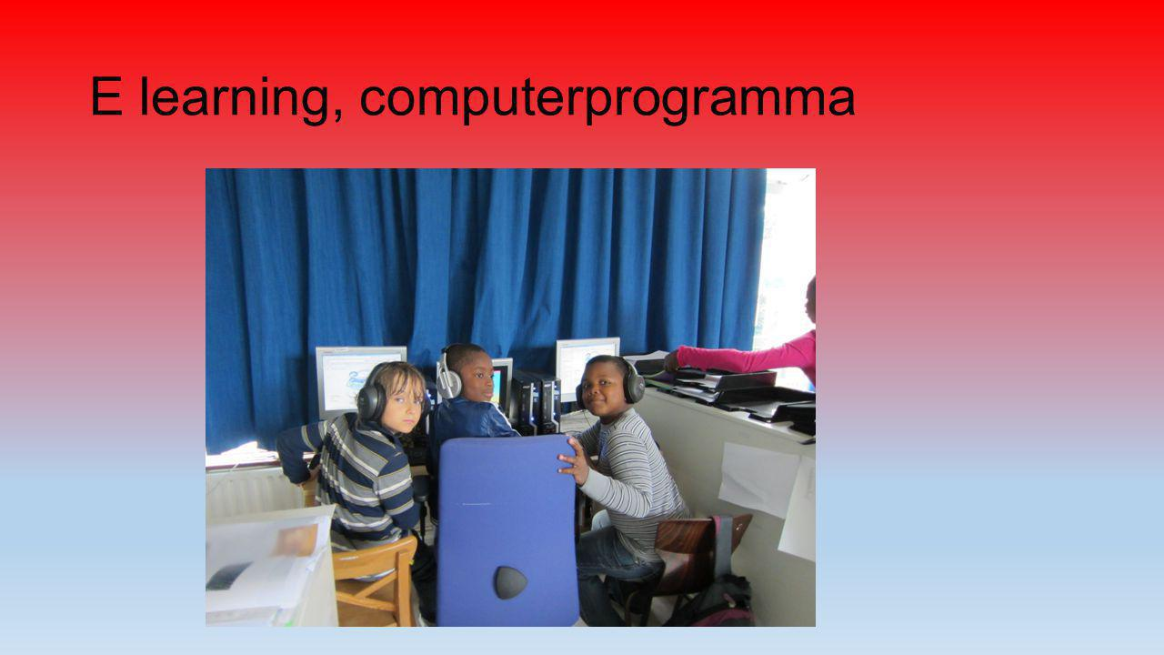 E learning, computerprogramma