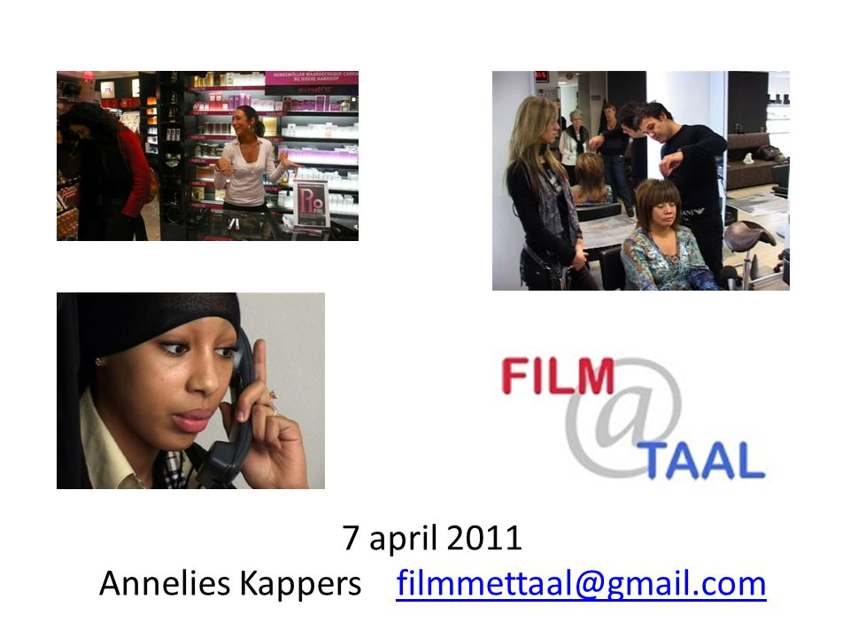 7 april 2011 Annelies Kappers