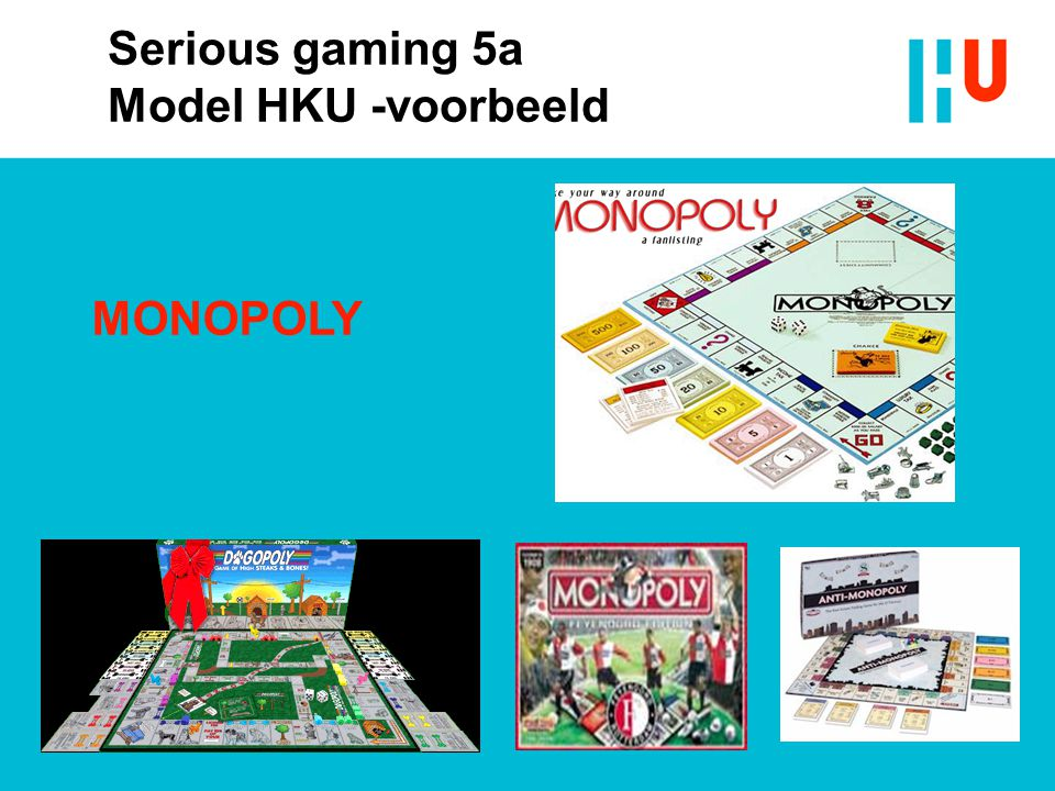 Serious gaming 5a Model HKU -voorbeeld