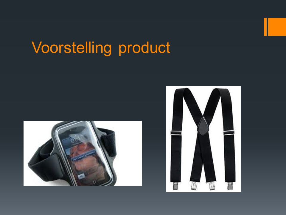 Voorstelling product