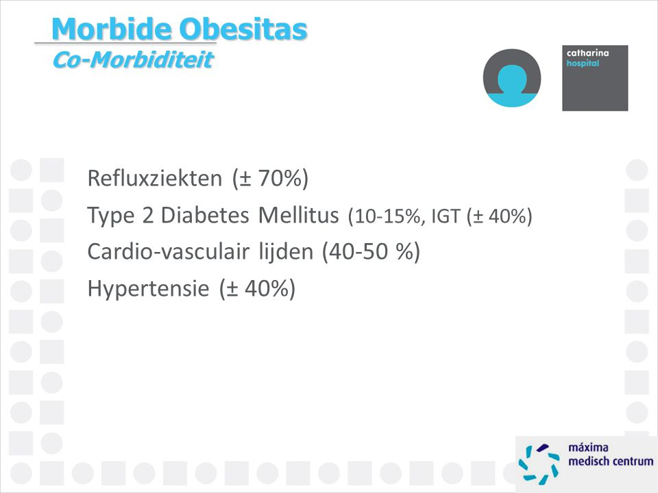 Morbide Obesitas Co-Morbiditeit