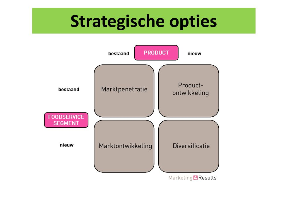 Strategische opties