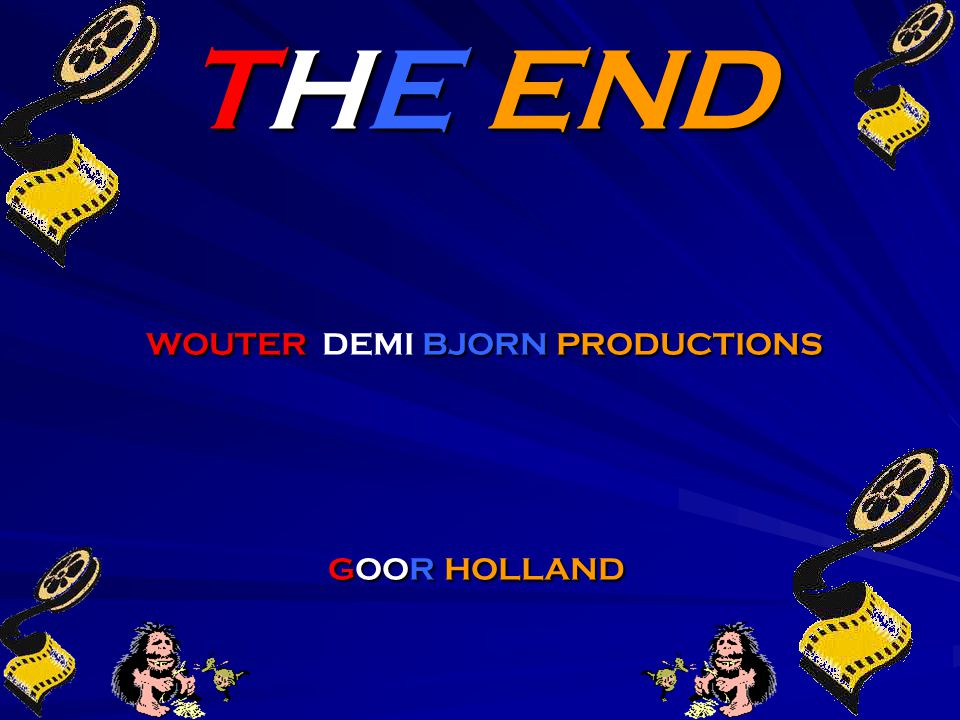THE END WOUTER DEMI BJORN PRODUCTIONS GOOR HOLLAND