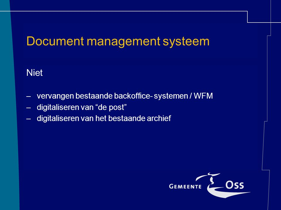 Document management systeem