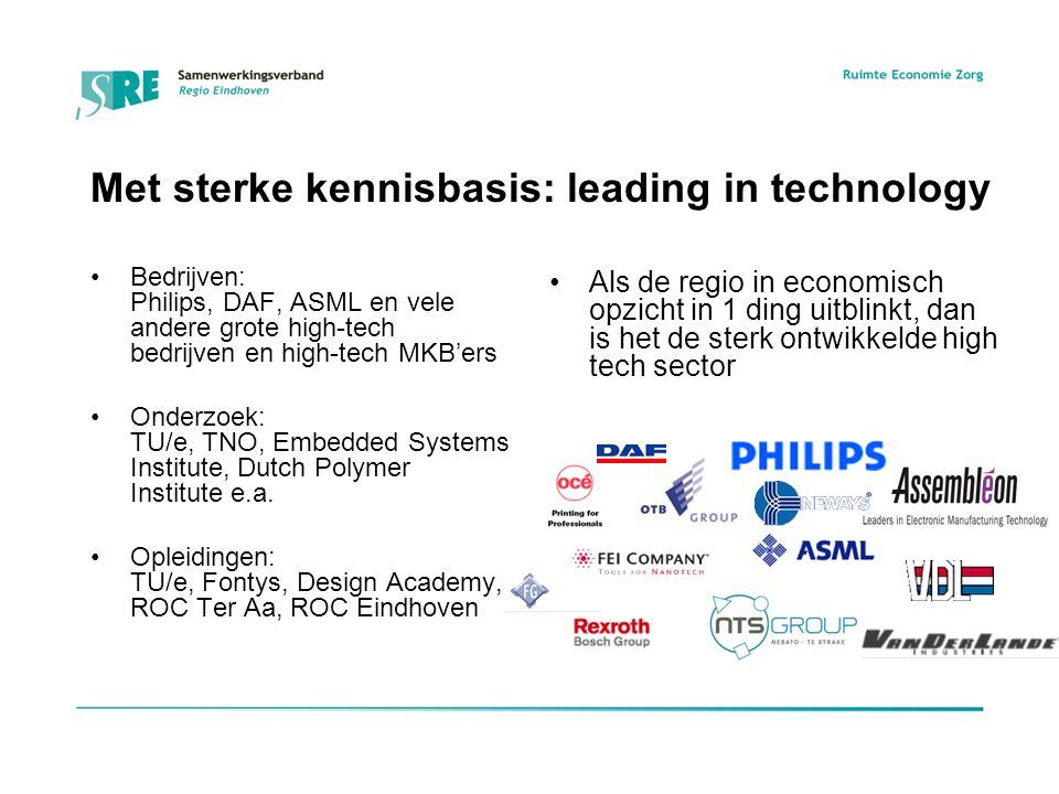 Met sterke kennisbasis: leading in technology