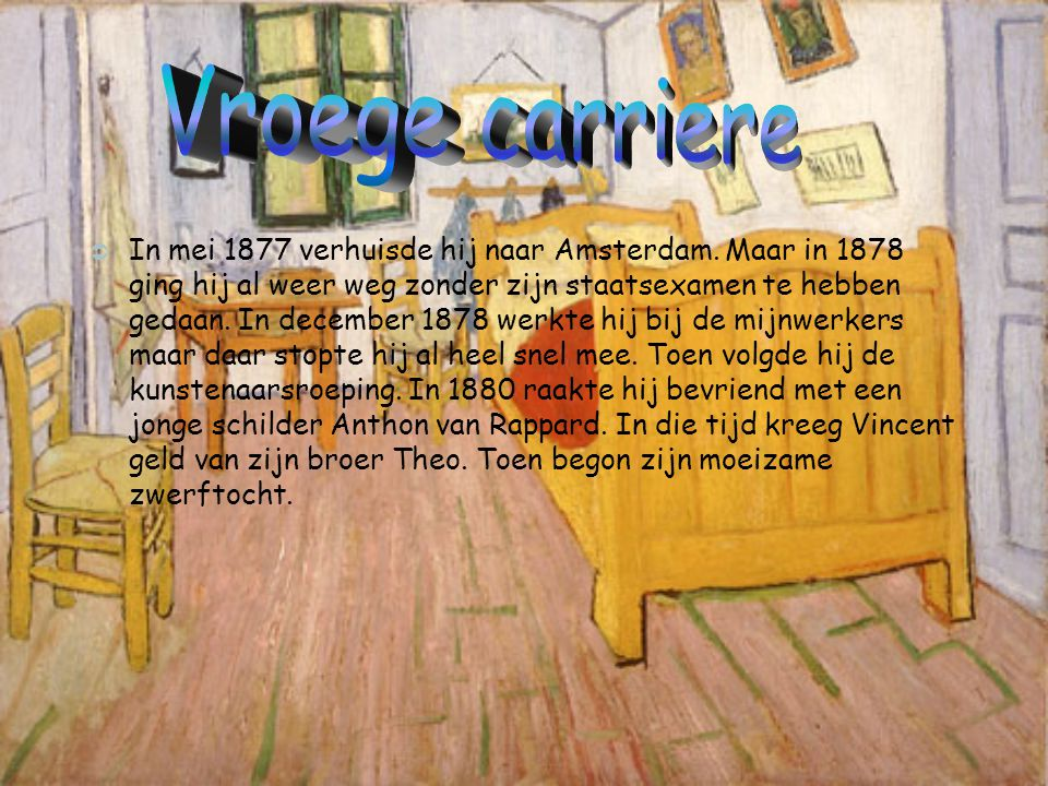 Vroege carriere