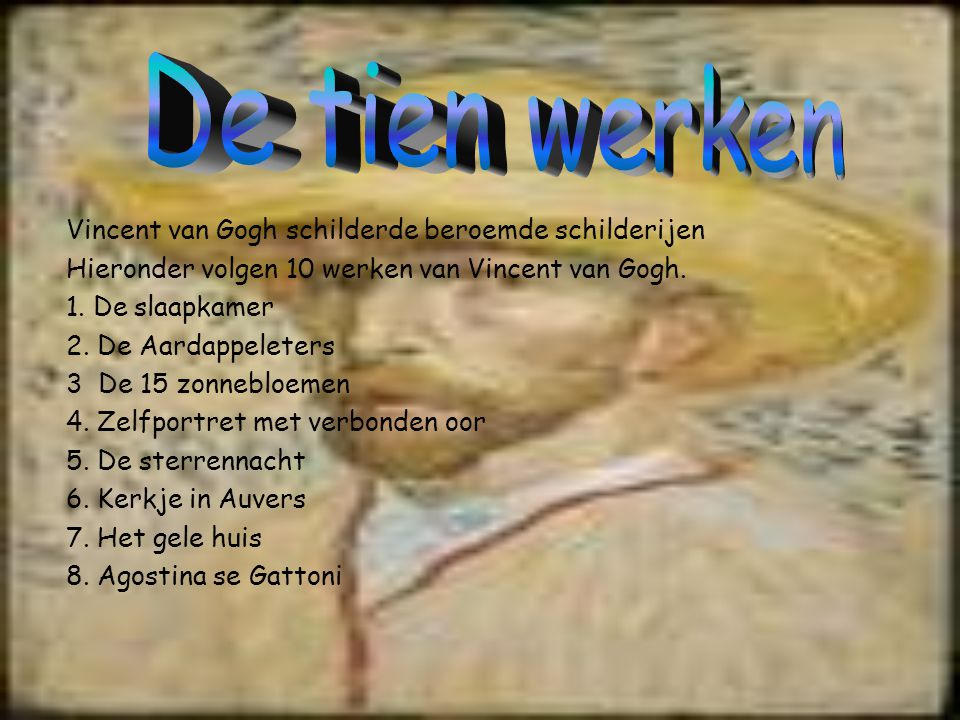 Slaapkamer Van Gogh : Vincent van gogh u ppt video online download