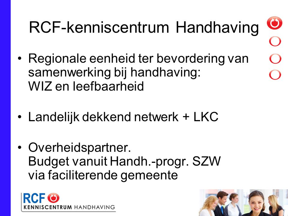 RCF-kenniscentrum Handhaving