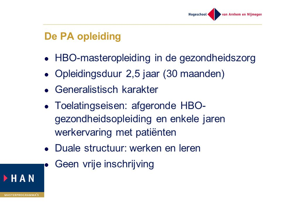Taakherschikking in de huisartspraktijk ppt video online for Opleiding hovenier hbo