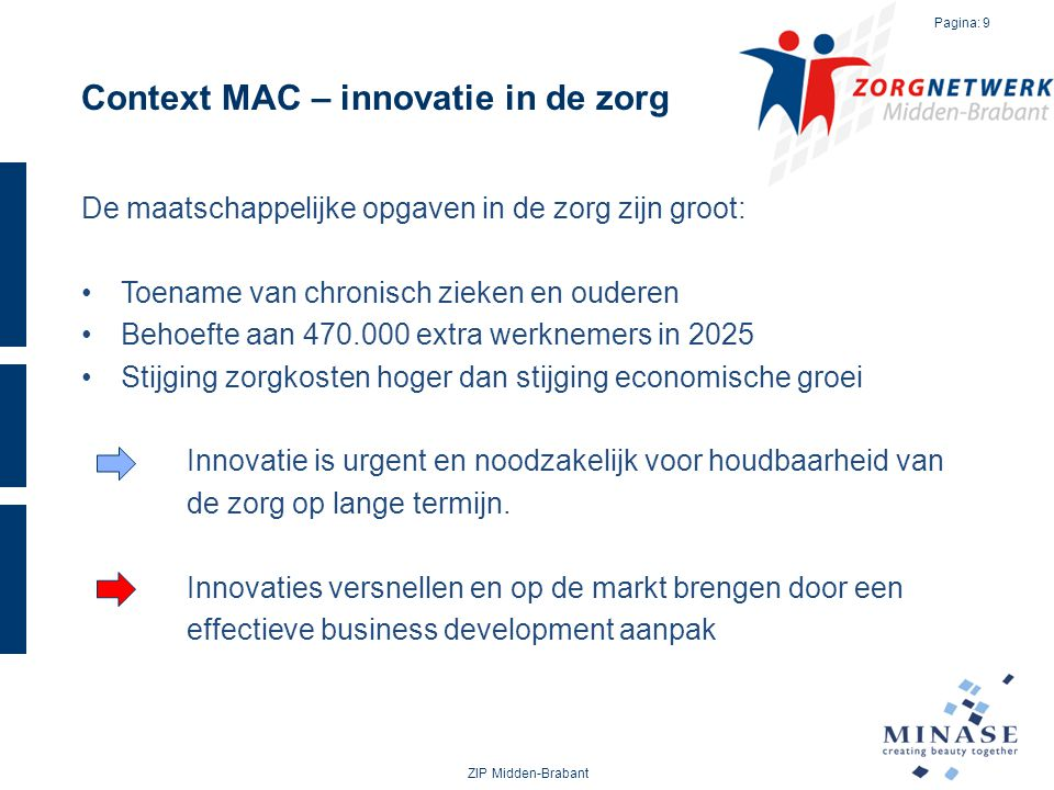 Context MAC – innovatie in de zorg