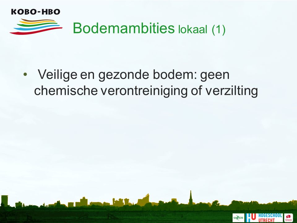 Bodemambities lokaal (1)