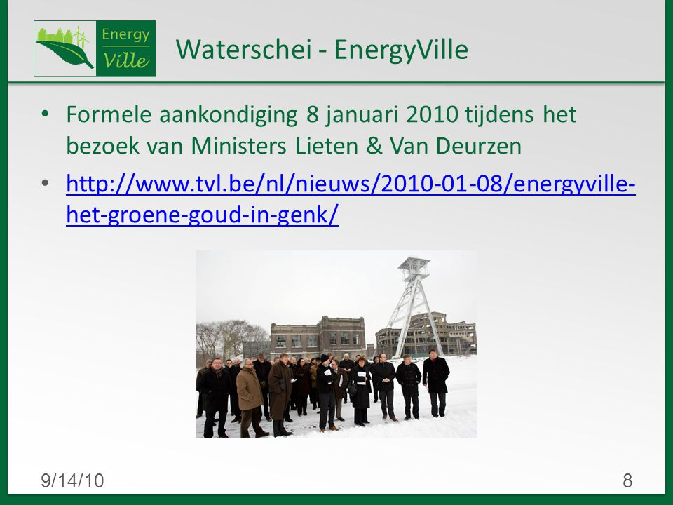 Waterschei - EnergyVille