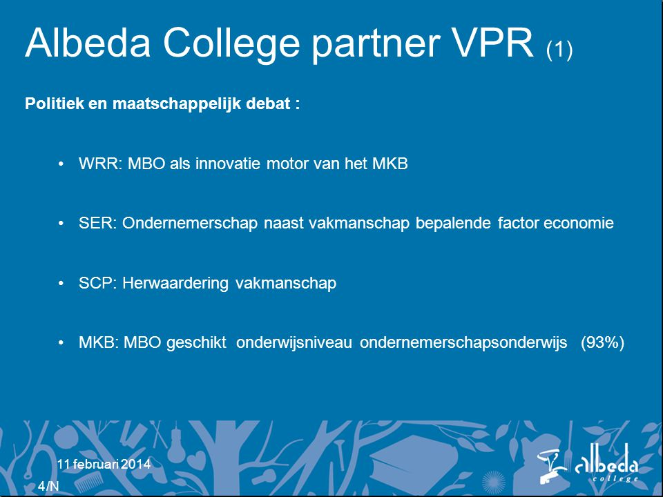 Albeda College partner VPR (1)