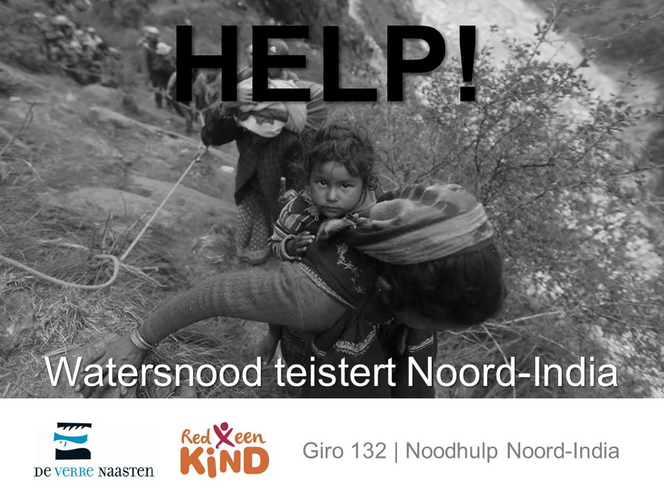 Watersnood teistert Noord-India