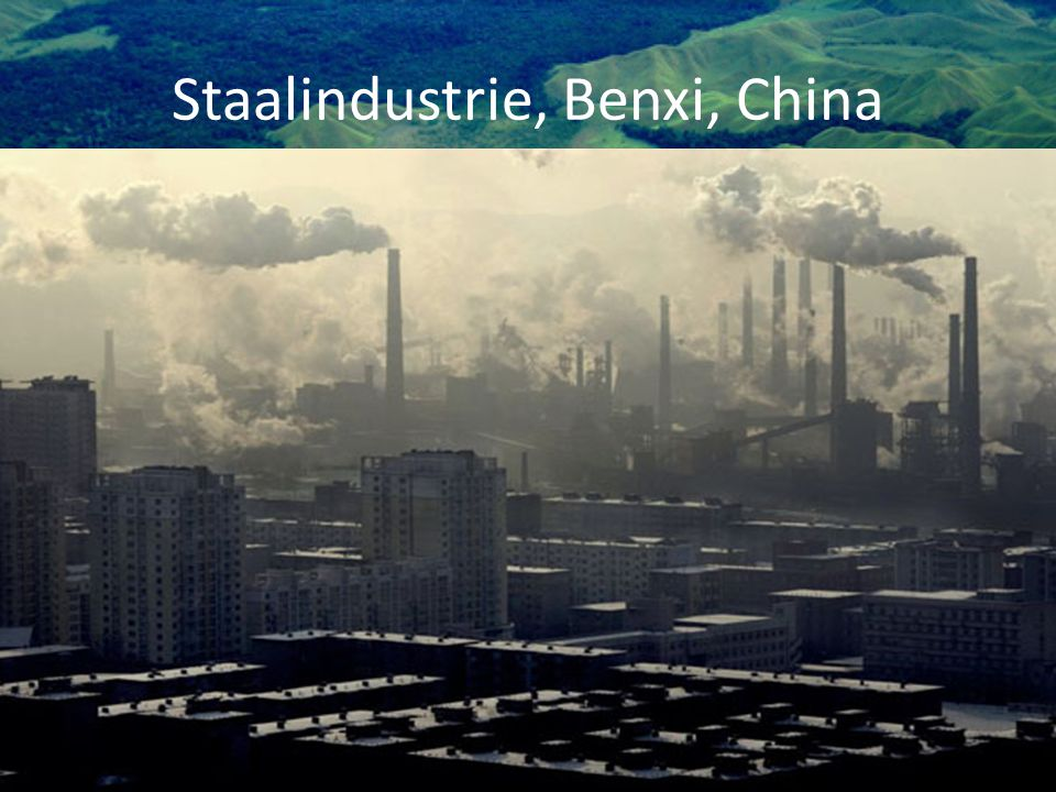 Staalindustrie, Benxi, China