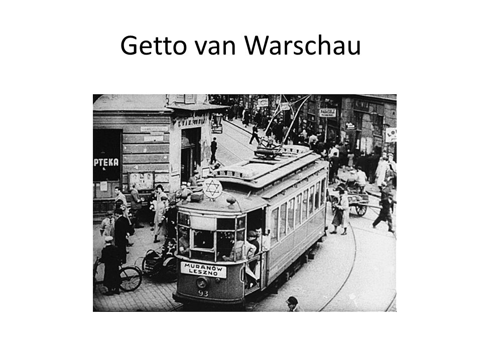 Getto van Warschau