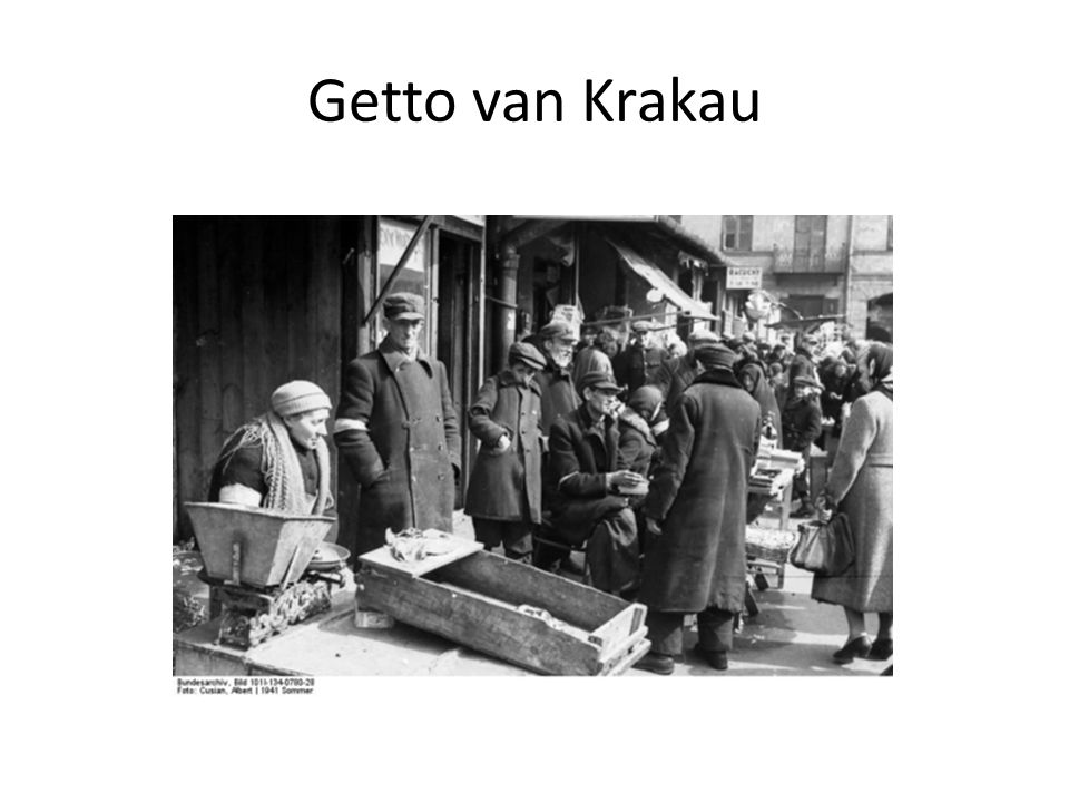Getto van Krakau