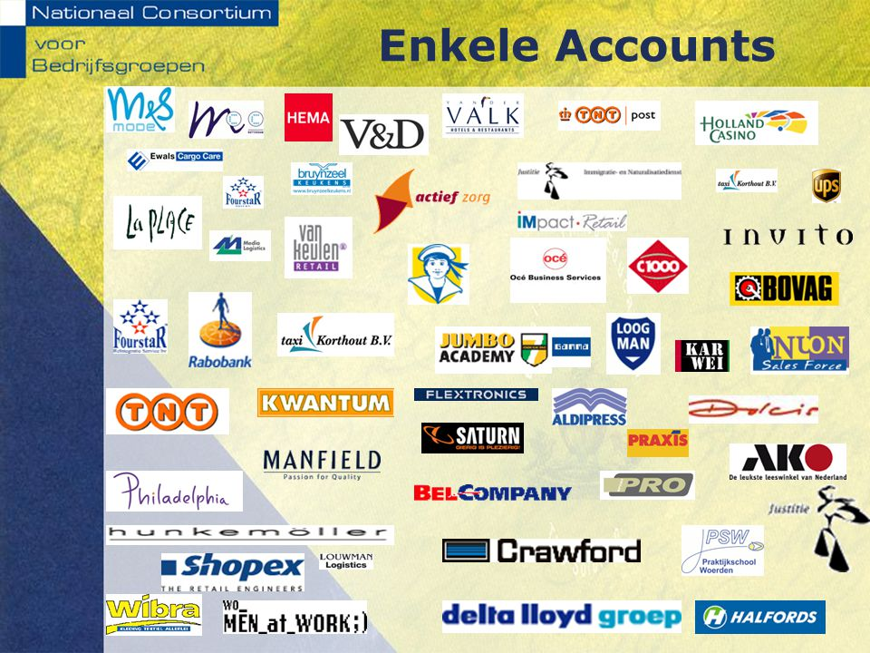 Enkele Accounts