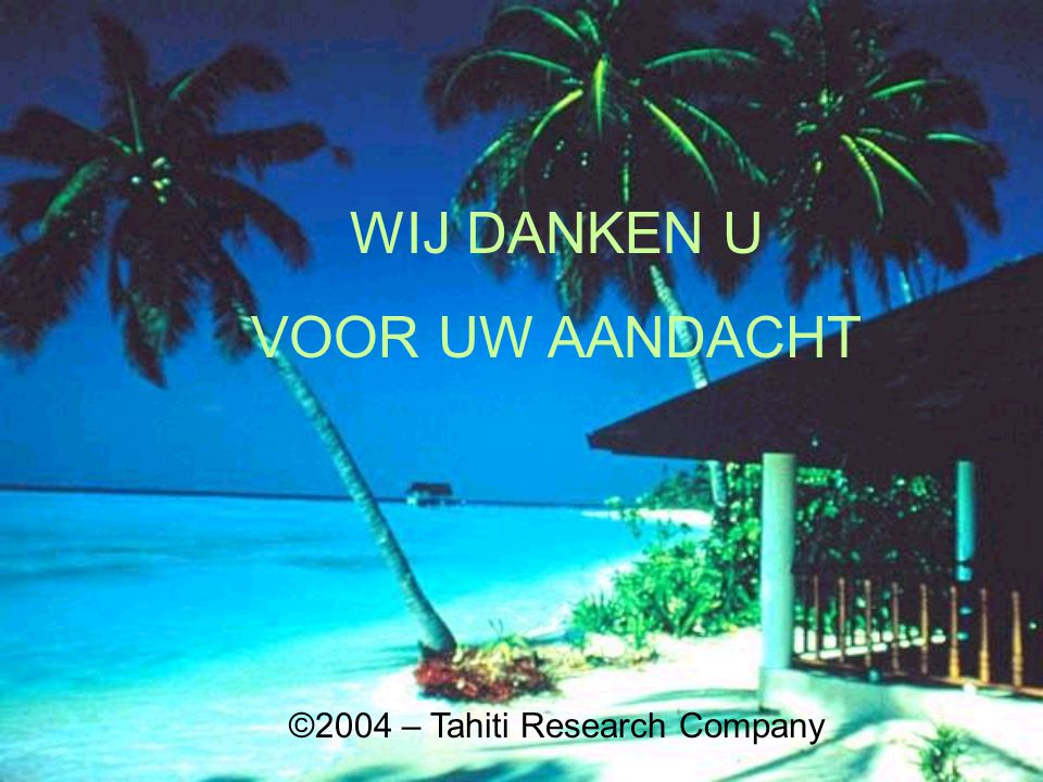 ©2004 – Tahiti Research Company