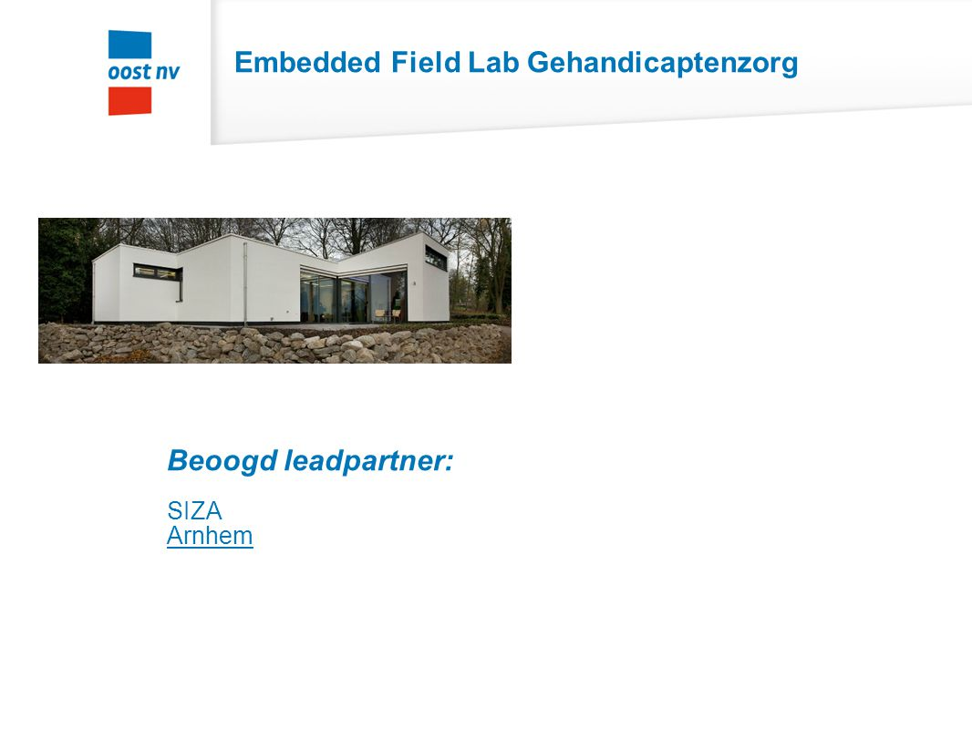 Embedded Field Lab Gehandicaptenzorg