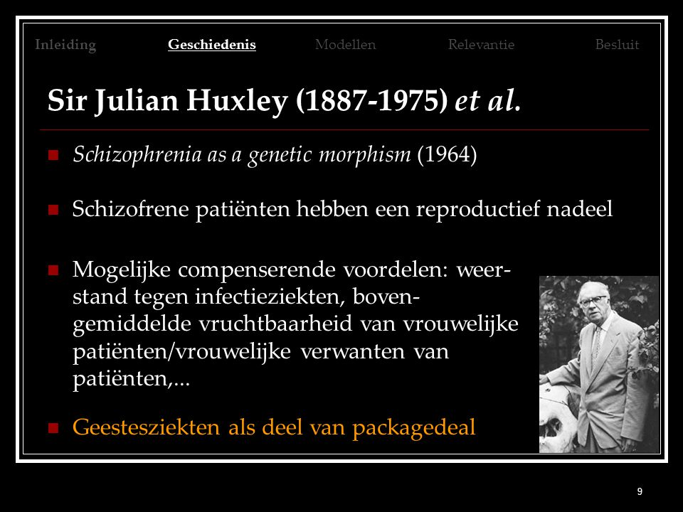 Sir Julian Huxley (1887-1975) et al.