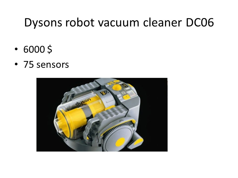 Dysons robot vacuum cleaner DC06