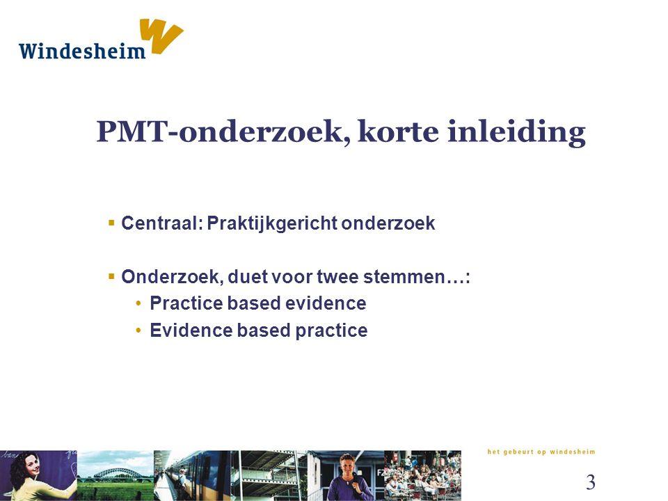 Welp Onderzoek en de PMT Onderzoek naar onderzoek (en scholing) in de OM-43