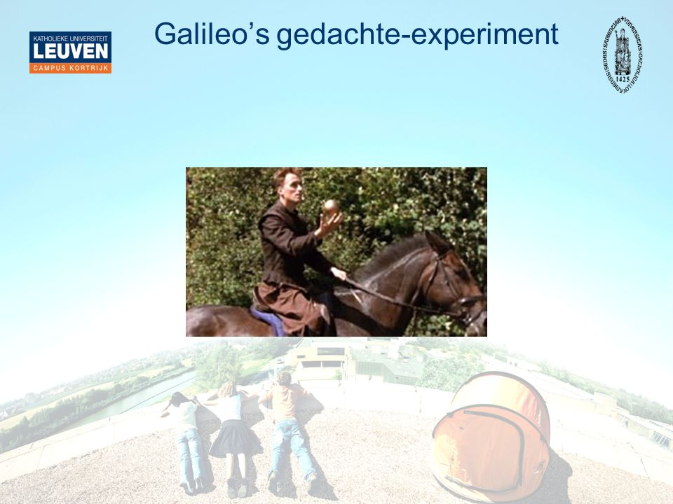 Galileo's gedachte-experiment