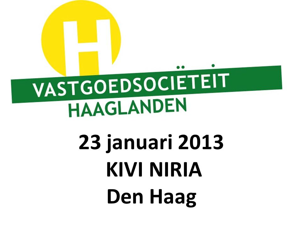 Kivi Den Haag.23 Januari 2013 Kivi Niria Den Haag Ppt Download