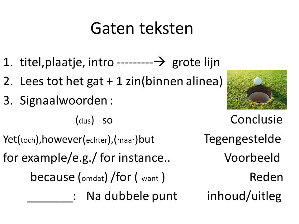 How To Tackle A Text Vakgroep Engels Ppt Download