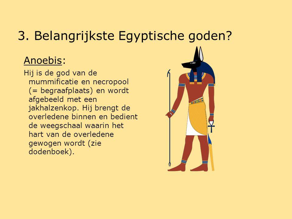 de egyptische godenwereld - ppt download