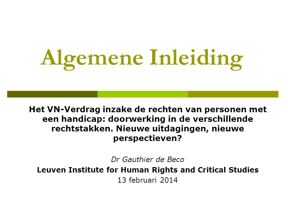 Leuven Institute for Human Rights and Critical Studies