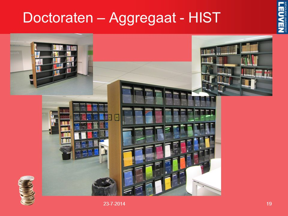 Doctoraten – Aggregaat - HIST
