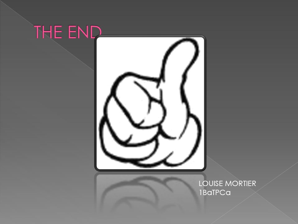 THE END LOUISE MORTIER 1BaTPCa