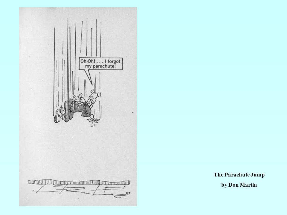 The Parachute Jump by Don Martin