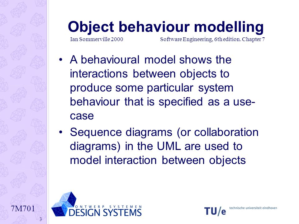 Interaction diagrams sequence diagram ppt download 3 object behaviour modelling ccuart Images