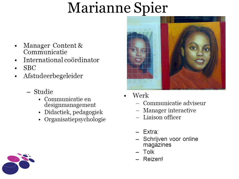 Marianne Spier Manager Content & Communicatie