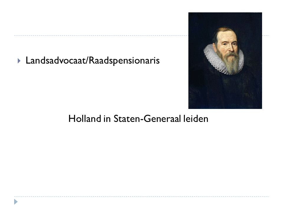Landsadvocaat/Raadspensionaris