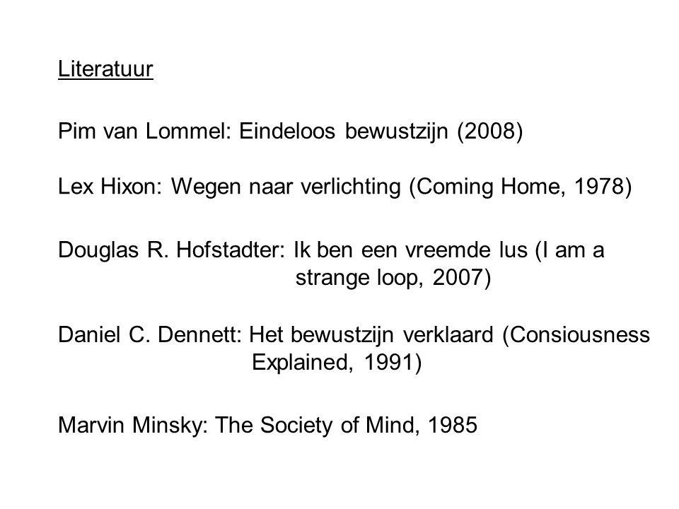 literatuur pim van lommel eindeloos bewustzijn 2008 lex hixon wegen naar verlichting