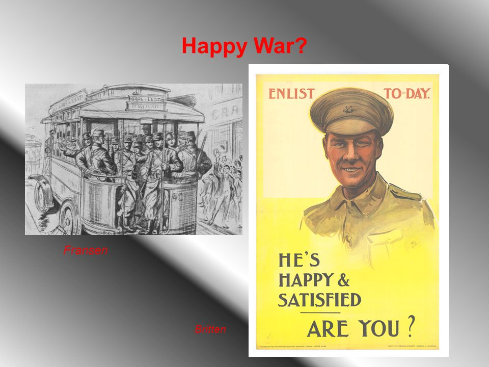 Happy War Fransen Britten