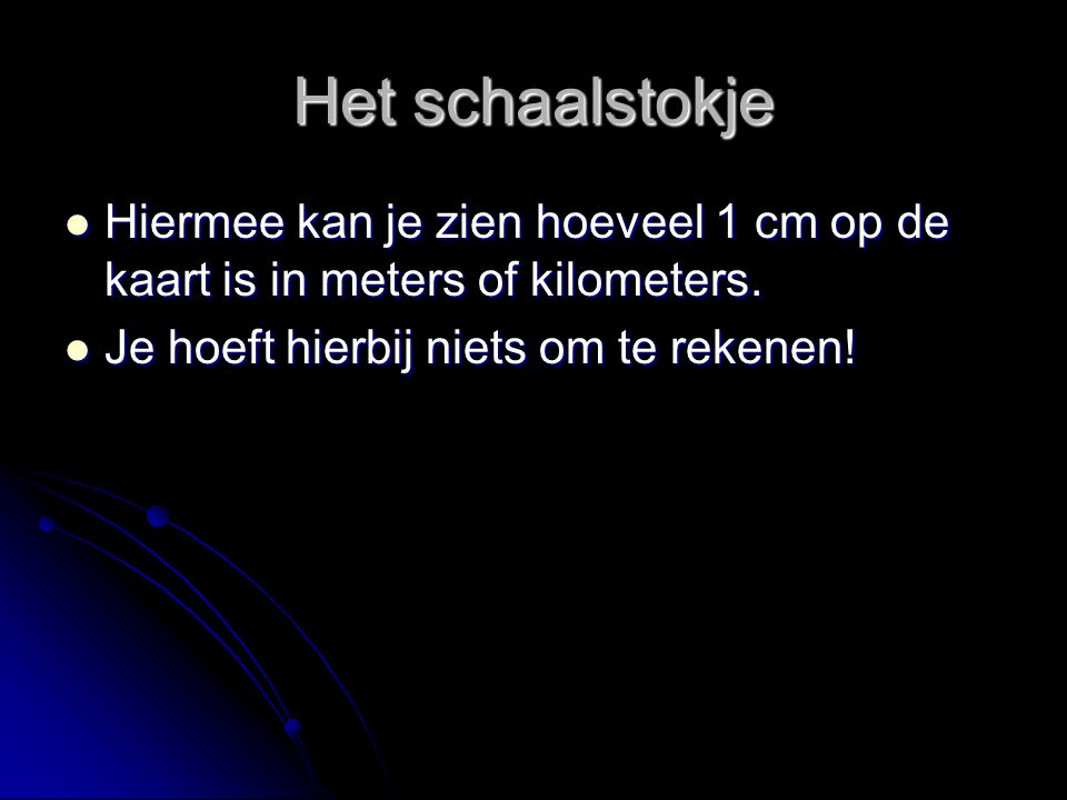 De Schaal Hoe Bereken Je Die Ppt Video Online Download