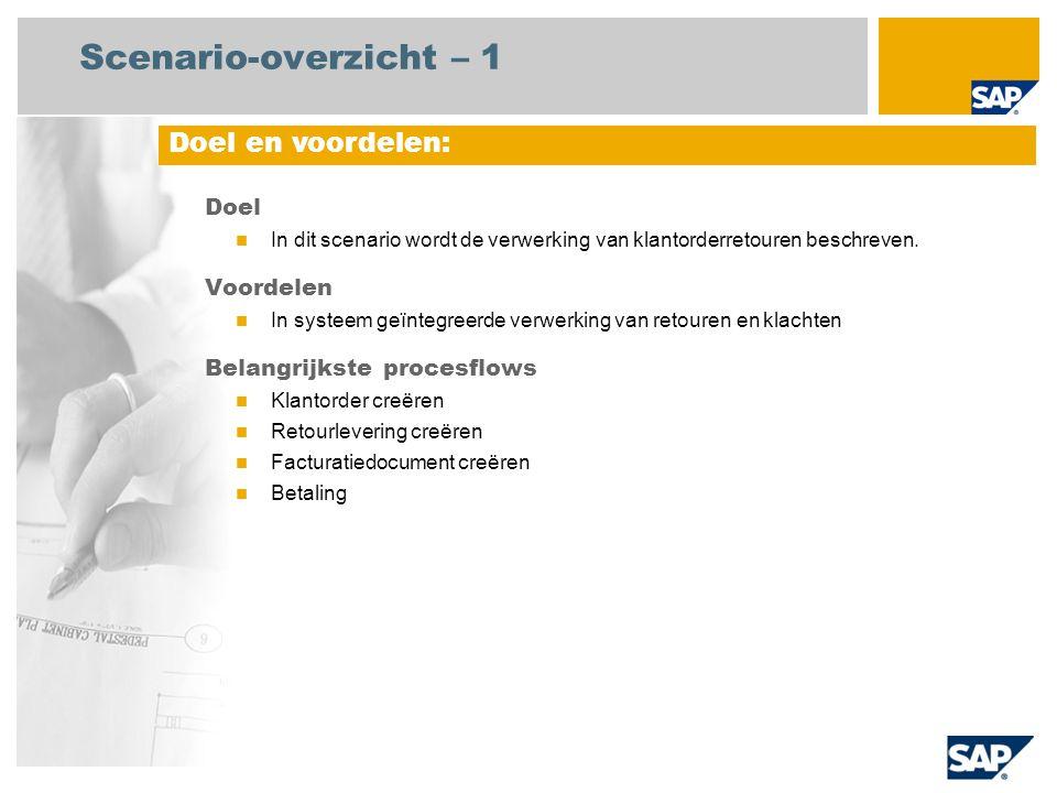 116e4b40207 Retouren en klachten SAP Best Practices Baseline Package (België ...