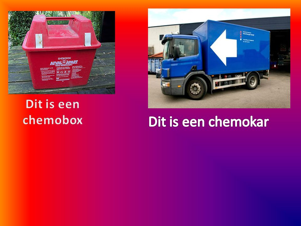 Dit is een chemobox Dit is een chemokar