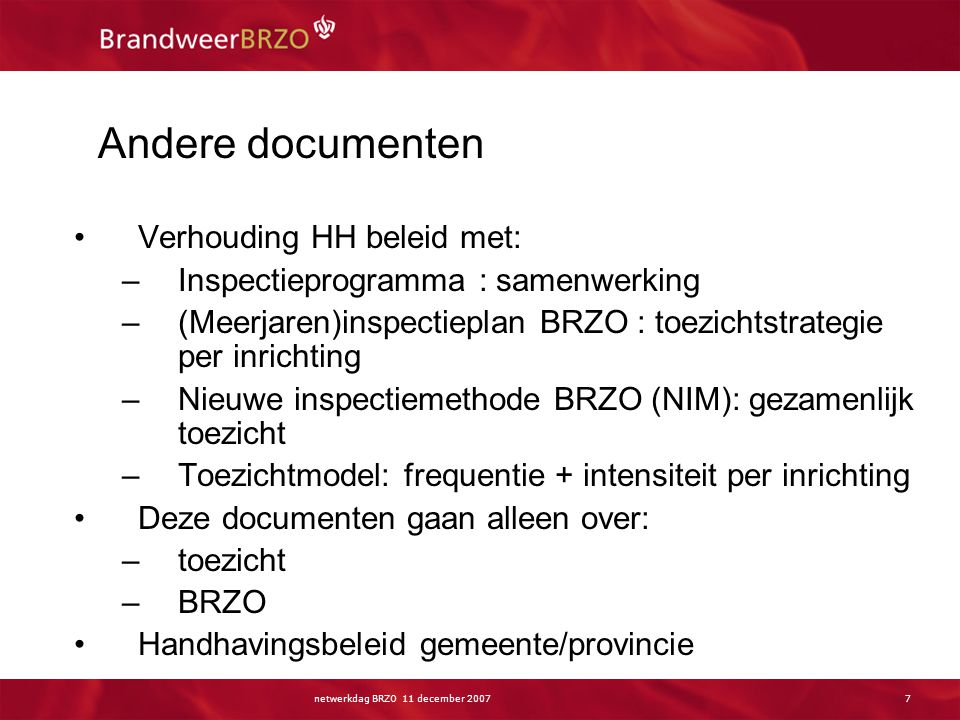 Handhaving Handhaving (in enge zin) =