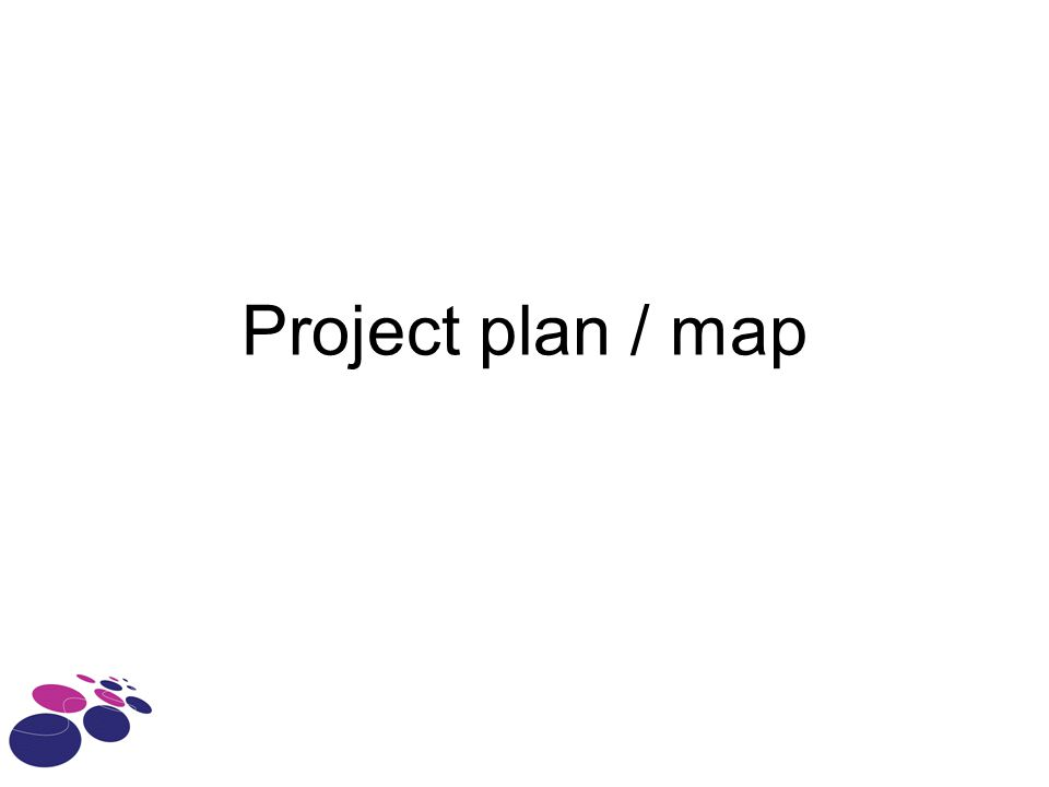 Project plan / map