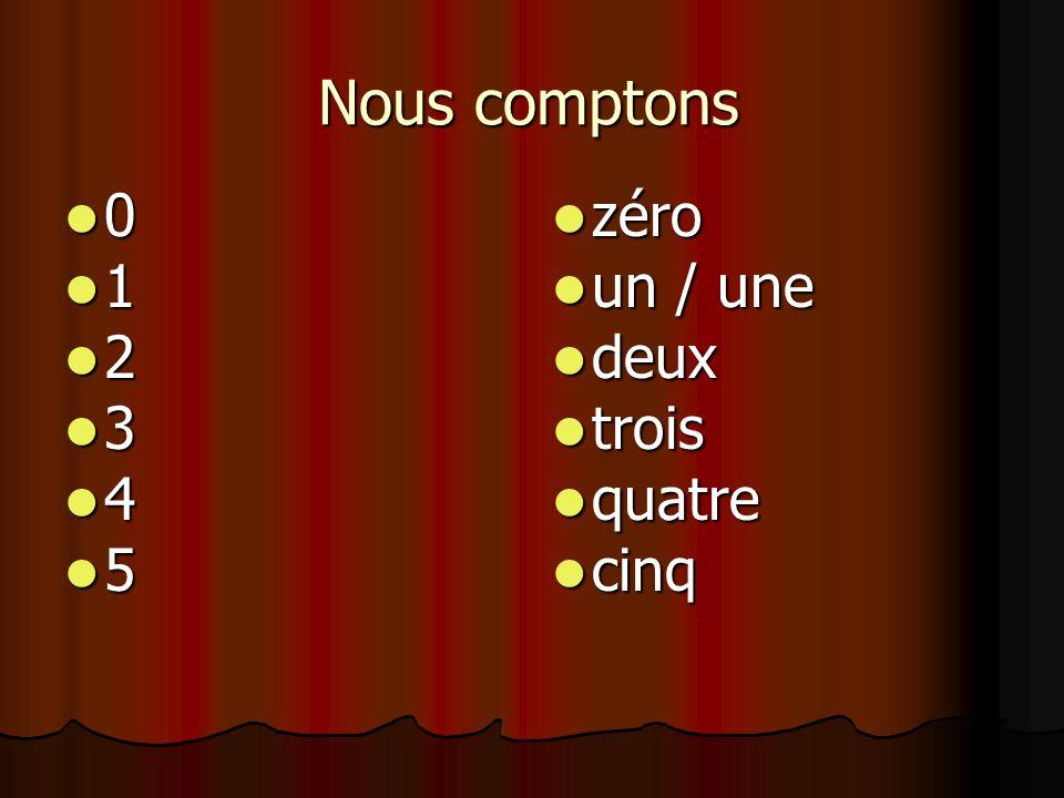 compter en français (tellen in het frans) - ppt video online download