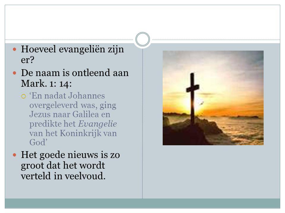 Evangelie In Viervoud Een Verkenning Ppt Download