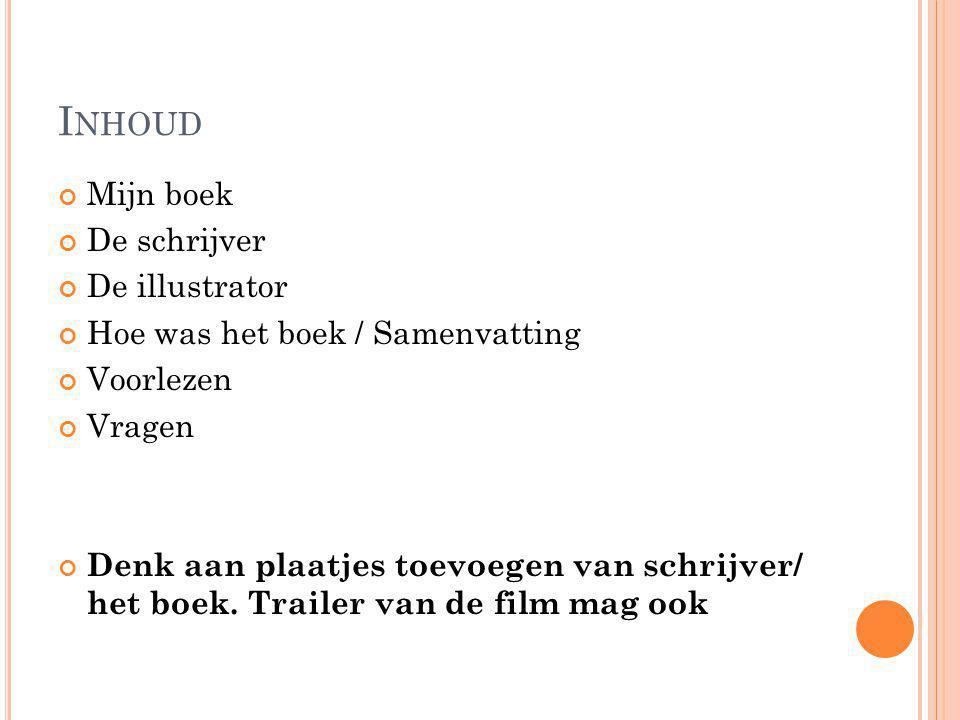 Hedendaags Boekbespreking Voorbeeld powerpoint. - ppt video online download SV-76