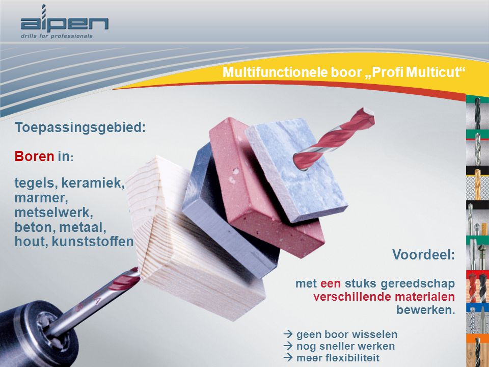 In Tegels Boren : Speciale boren multifunctionele boor u eprofi multicutu c ppt video